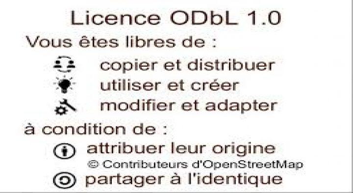 OpenStreetMap: quelle licence, quelle utilisation?